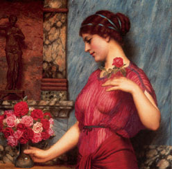 John-William-Godward---An-Offering-to-Venus